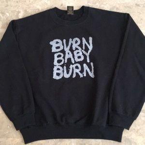 "Obey ""Burn Baby Burn"" Sweatshirt"